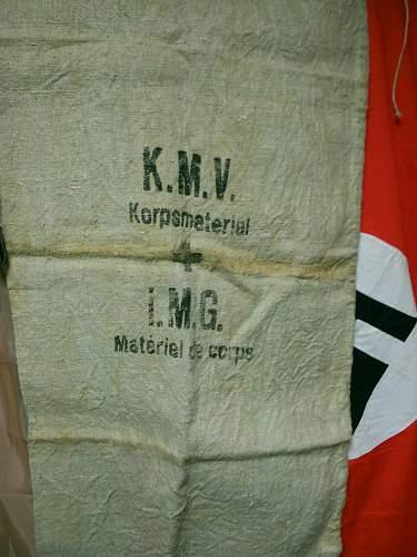 German ration bag? DRK?
