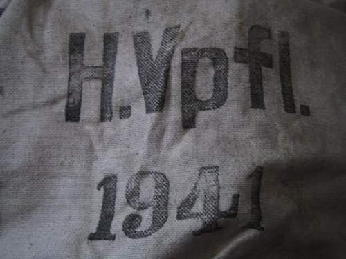 WH flour sack