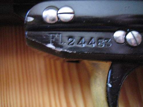 My double barreled Luftwaffe flare gun