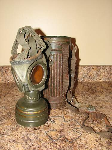 Salty gas mask