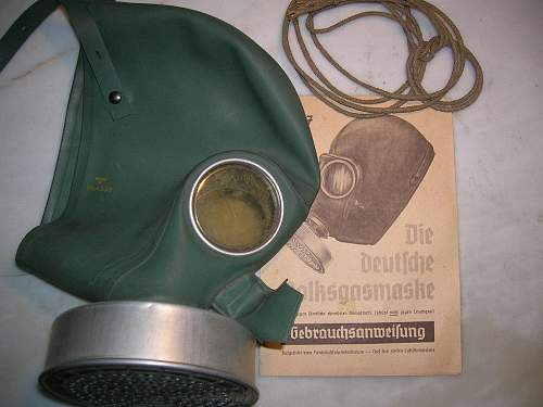 Gas mask questions