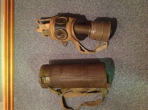 World War II German Gas Mask Real or Fake?