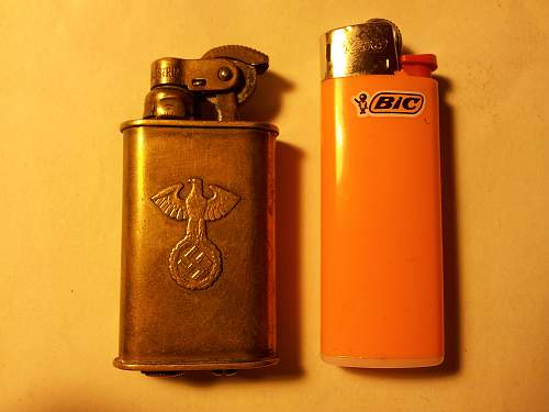 German SS Lighter. Any thoughts?