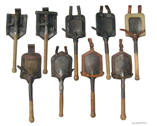 Straight entrenching tool covers