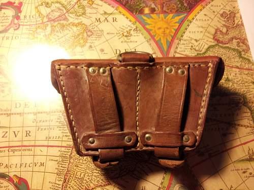 Weird looking ammo pouch!