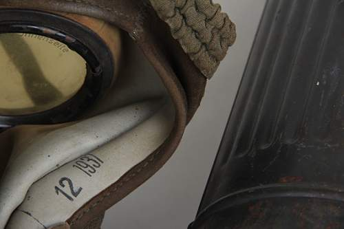 Gas mask & canister