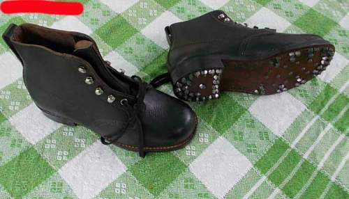 unidentified  boots
