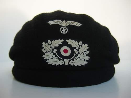 Click image for larger version.  Name:Heer Panzer beret..jpg Views:610 Size:55.6 KB ID:417800