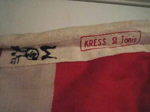 Kriegsmarine signal flag's