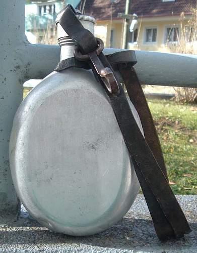 Unknown - German Water Bottle Markings