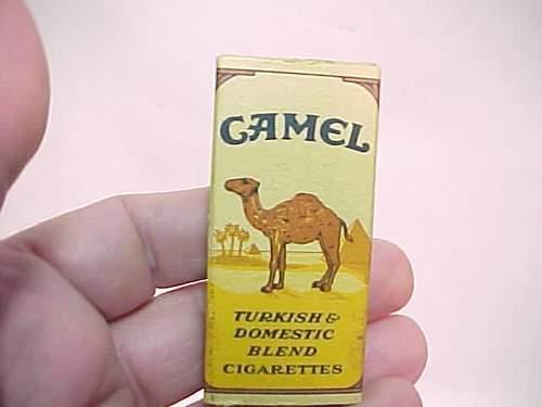 Camel Cigarettes original ww2 period or not?