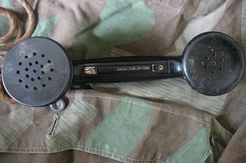 WW2 German Field Phones