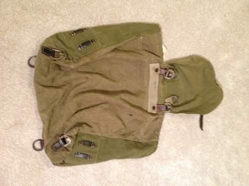 Rucksack - straps ?