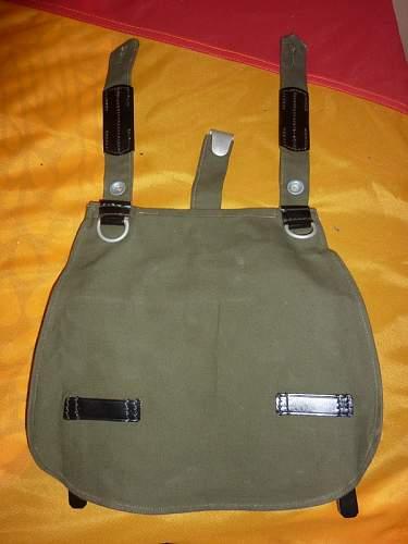 1945 German bread-bag (?)