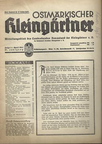 Third Reich Paper Bag