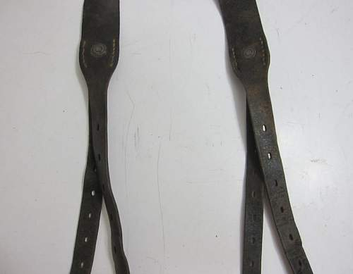 Early 'Y' straps what are they??