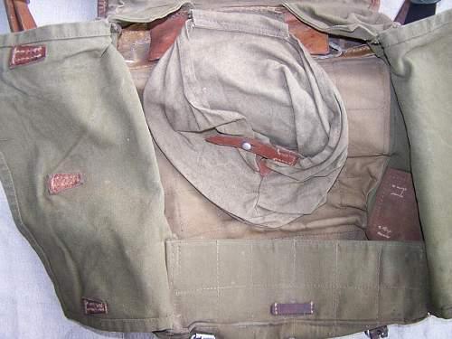 ww2 German rucksack