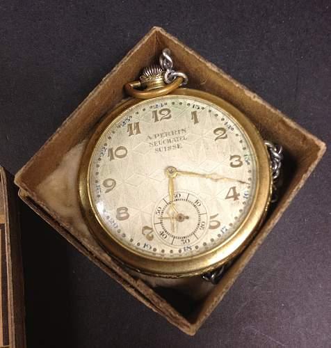 German Issued Pocket Watch???