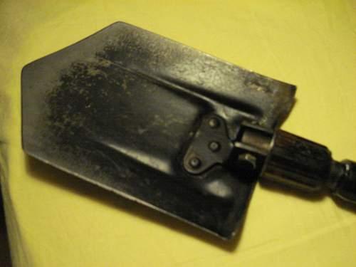 What kind of folding shovel?