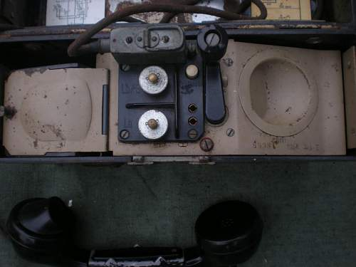 Afrikakorps field phone