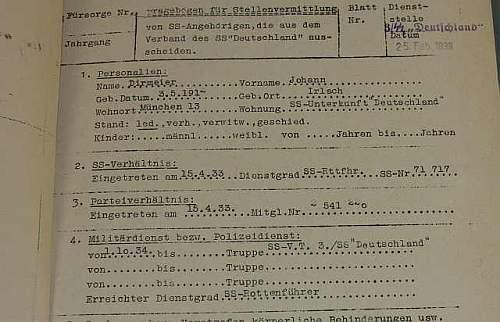 Ammo Box named to an SS Unterscharfuhrer