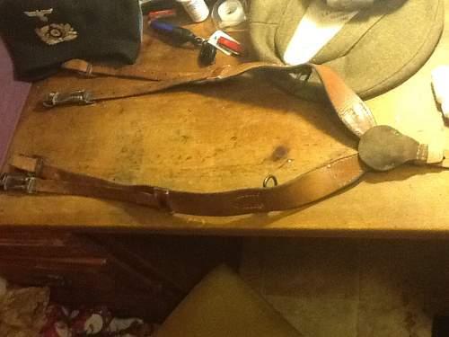 Y-straps..look ok?