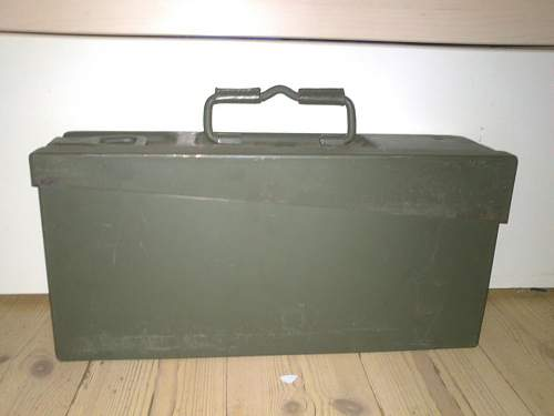 I bought this German Ammo Box!