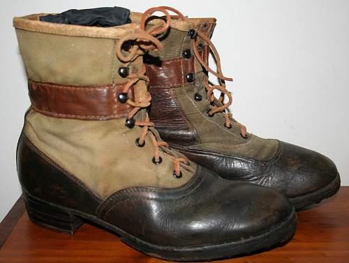 DAK boots short