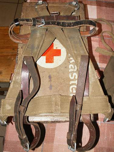 Shovel, A frame and vehicle First Aid kit