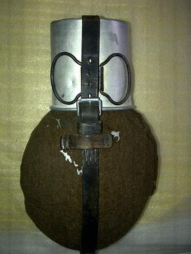 Authentic German WW2 Canteen or perhaps not ?