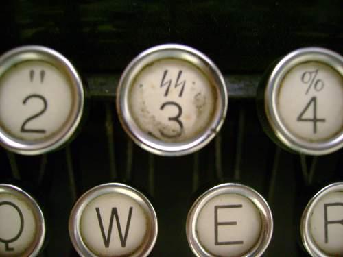 SS Typewriter
