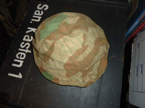 Opinions welcome on this splinter helmet cover