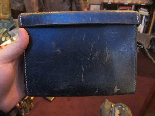 German leather box, 'cqr.40'