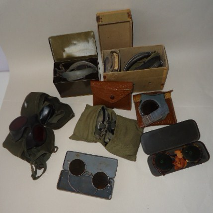 Windschutzbrillen: Wind protection goggles collection