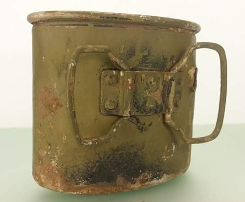 A couple of canteen cups