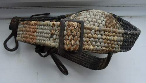 MG 34/42 ammo tin carrying strap