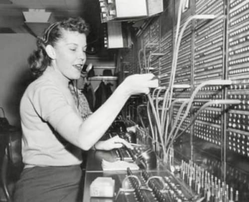 10 line telephone exchange