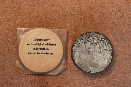 Gas mask replacement lens tin?
