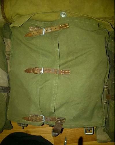 WW2 german backpack ?
