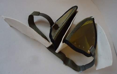 WW2 German Dust Goggles