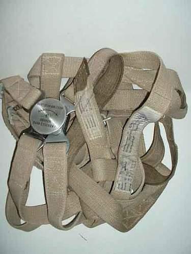 Luftwaffe parachute harness