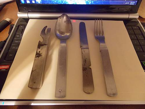 Original Mess utensil? complete.