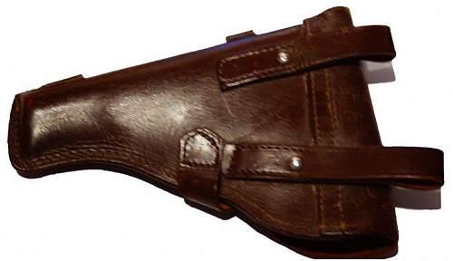 Pistolentasche Marine Mauser 1934 / 7,65mm. Any chance?