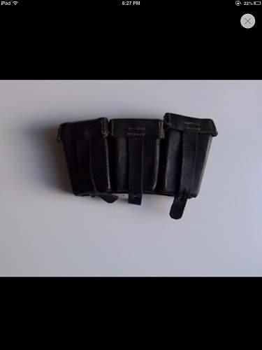 ww2 german ammo pouch