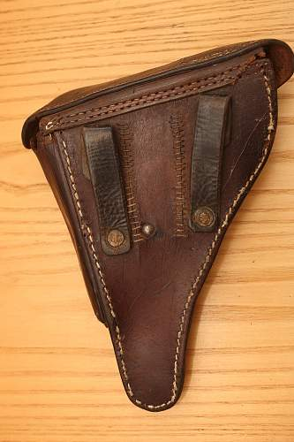 Luger Holster help please