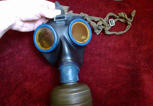 My second gasmask & canister...