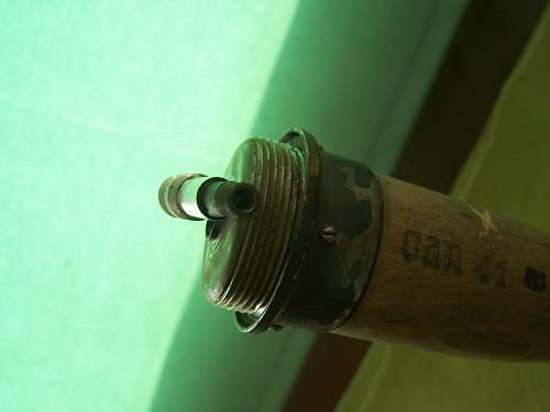 German M 24 Stick greanades with history