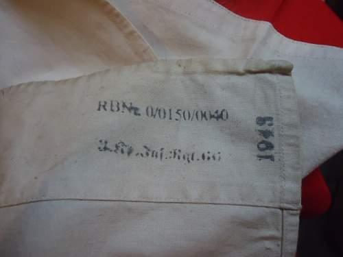 Unit marked medical flag for Infantry Regt 66