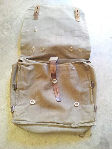 What is this breadbag from???? pre-war or NVA???