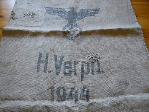 Is This the common Wehrmacht Verpflegungssack??